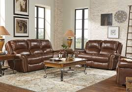 Brown leather living room furniture Color Scheme Shop Now Abruzzo Brown Pc Reclining Leather Living Room Rooms To Go Leather Living Room Sets Furniture Suites