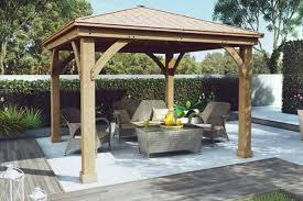 yardistry wood gazebo