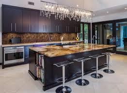 modern kitchen crystal chandelier