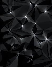 Adesivo Concetto Astratto Tecnologia Futuristica Sfondo Nero