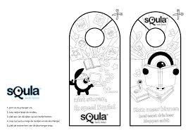 Kleurplaten En Puzzels Voor Kinderen Deurhangers Lettering En