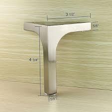 metal vanity legs. Simple Metal Furniture Cabinet Cupboard Metal Legs Table Feet Stainless Steel Square 4  Pcs Amazonca Home U0026 Kitchen And Metal Vanity Legs T