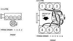 1994 firing order mercuray topaz fixya what is the firing order diagram for a 1989 mercury topaz 4 cylinder