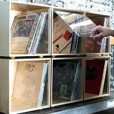diy record storage record storage vinyl records storage furniture vinyl record storage rack for vinyl