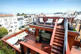 unique rooftop building a deck cost of roof in rooftop deck cost bienvenidoacasaclub