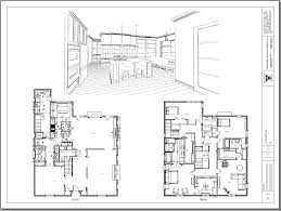 kitchen drawing perspective. Interesting Kitchen Interior Renovation With Kitchen Perspective Revised On Drawing T