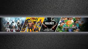 youtube gaming channel art. YouTube Gaming Channel Art Banner Youtube Archive Assassins Intended