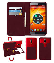 Panasonic P61 Flip Cover by ACM - Red 2 ...