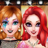 sakura princess makeup princess anna punk rock makeover
