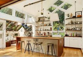 open shelving kitchen modern style