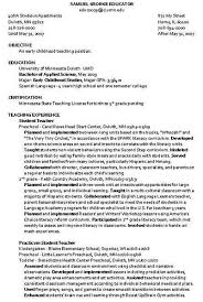 Resume Template For Child Care Management Free Child Care Resume Mesmerizing Childcare Resume