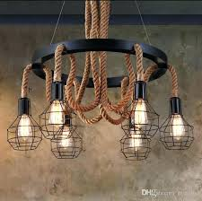 industrial bar lighting. Industrial Bar Lighting New Luxury Retro Rope Pendant Lights Vintage Restaurant Living Light Style