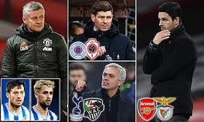 Club brugge manager philippe clement said: Europa League Last 32 Draw Manchester United Face Real Sociedad Whilst Arsenal Will Take On Benfica Daily Mail Online