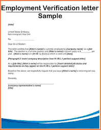 sample letter employee employment verification template hunecompany com