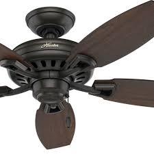 hunter 44 ceiling fan new bronze medium walnut stained oak fan blades