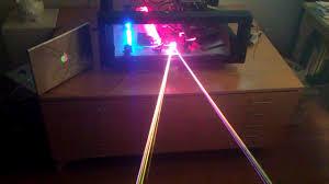 the 5 watt rgb laser projector