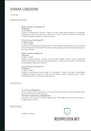 Best Simple Resume Format Mesmerizing The Best Resume Template Format Free To Download Word For In Ms