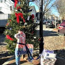 Nantucket Post Office Christmas Tree Veranda House Hotel