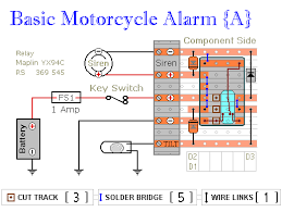 two relay based motorcycle alarm circuits Alarm Relay Wiring Diagram Alarm Relay Wiring Diagram #62 fire alarm relay wiring diagrams