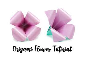 How To Make A Flower Out Of Paper Step By Step Make An Easy Origami Lily Flower