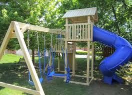 kids backyard forts and new 10 diy playset plans you ll love