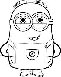 Elegant Minions Coloring Pages Pdf Or Book Ayushseminarmahainfo