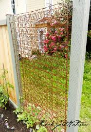 creative way to recycle old mattress springs as trellis for your garden
