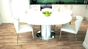 extendable round dining table expandable round dining room tables round table that expands dining table white