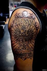 крест на плече татуировка по ту сторону закона отличным вариантом