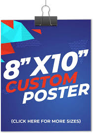 Print posters as large as 24 x 39 for big audiences and busy locations. Amazon Com Custom Poster Printing From Abgprint Ideal For Indoor Wall Art Home Decor Homeschool Educational Posters Premium Paper Various Size Options 8x10 Office Products