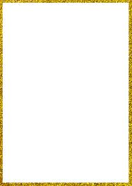 gold frame border png. Award Certificate Gold Frame Border Png