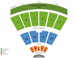 San Diego State Open Air Theatre Seating Chart Cal Coast Credit Union Open Air Theatre At Sdsu Seating