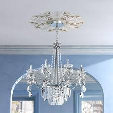 repositionable ceiling chandelier medallions simple living room chandelier