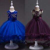 Tutu <b>Kid Girl Wedding Flower</b> Formal Baby Princess Dress Dresses ...