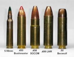 The 458 Socom Vs 50 Beowulf Extra Big Bore Ar Cartridges