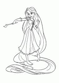Small Picture Disney Rapunzel Coloring Pages Free Draw Background Disney