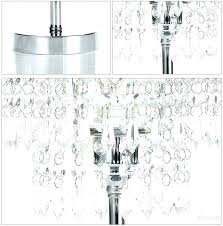 chandelier night stand lamp bedside table chrome round crystal bedroom nightstand chandelier night stand lamp