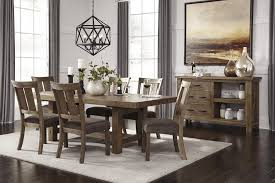 Ashley Furniture Kitchen Table And Chairs Signature Design By Ashley Tamilo Rectangle Dining Room Table With