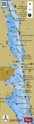 Thames River New London Harbor Inset 1 Marine Chart