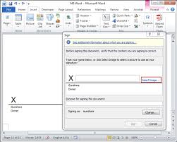 How To Digitally Sign A Word Document How To Digitally Sign Word Document In Microsoft Word