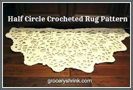 half circle rugs half circle rugs crocheted half circle rug circle rugs half circle rugs