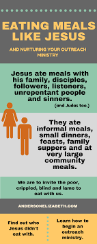 Types Of Meals How To Share Meals Like Jesus And Nurture An Outreach Ministry