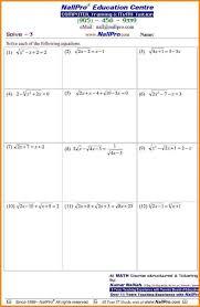 Grade 6 7 8 Mathematics Math Worksheets Algebra ~ Koogra