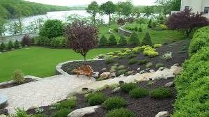 Small Picture Amazing Designing gardens on slopes slope landscaping ideas
