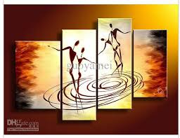 2018 wall art people dance of love oil painting on canvas from  on 4 piece canvas wall art with dorable 4 piece canvas wall art image collection wall art