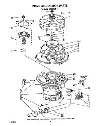Pump and motor parts kitchenaid dishwasher wiring diagram 3 rh stophairloss me kitchenaid dishwasher electrical diagram kitchenaid dishwasher upper spray
