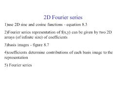 13 2d fourier series