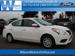 used 2017 nissan versa 1 6 sv in corvallis or p1964a lebanon m albany or