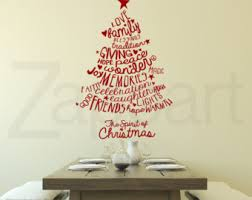 Christmas Tree Wall Decal  Christmas Lights DecorationChristmas Tree Decals