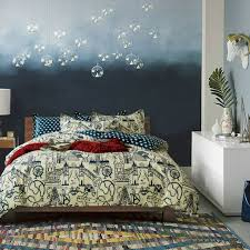 Accessories: Bedspread Travel Themed Comforter - Travel Themed Room